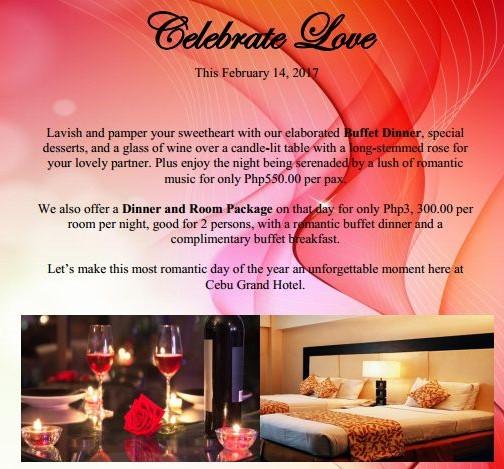 Cebu Grand Hotel - Promos